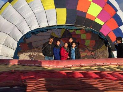 Vuelo en globo sobre Huamantla con noche en Hostal