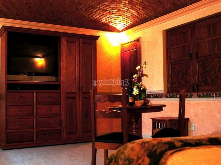 Habitación en hacienda en Querétaro