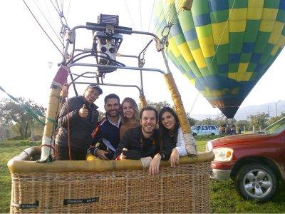 Balloon flight with video in San Miguel de Allende