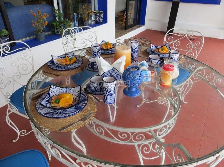 Breakfast in Tequesquitengo