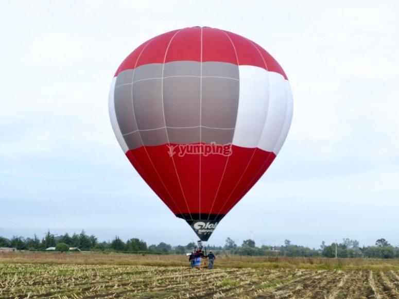 Balloon airfield