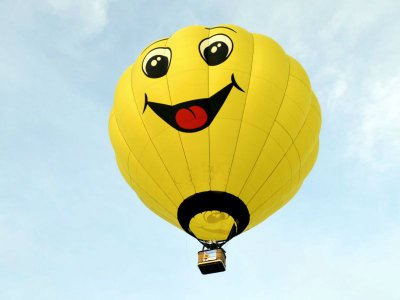 Balloon flight and paintball Teotihuacán for kids