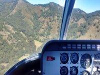 Vista de las montañas del valle de México