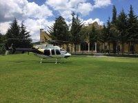 Helicóptero para recorrido por México