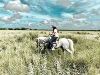 Relax with this horseback ride