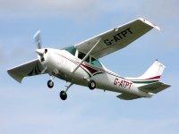 Volando en una Cessna