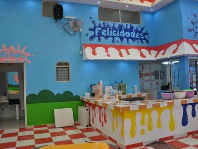 Salón infantil con taquiza 50 pers Lomas Estrellas