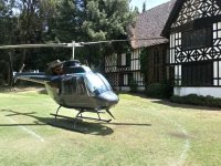 Aterrizaje de helicóptero