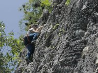 Ideal natural rocks for climbing