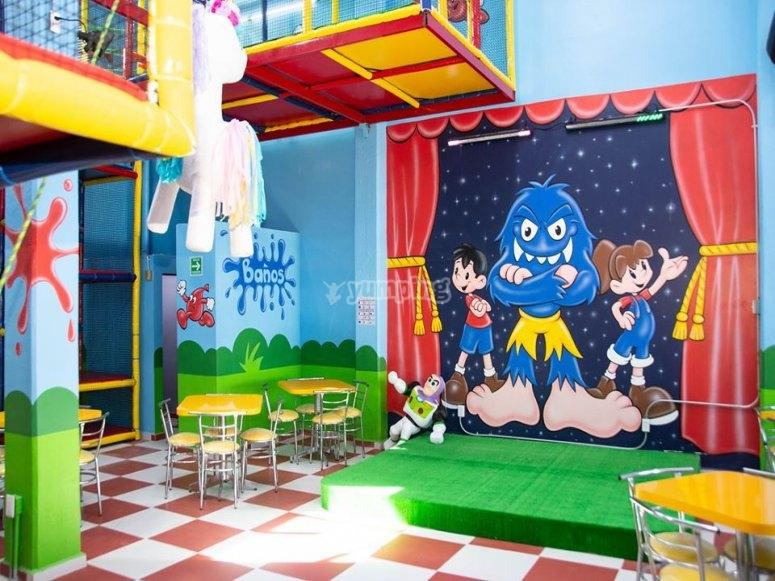 Salón para eventos infantiles