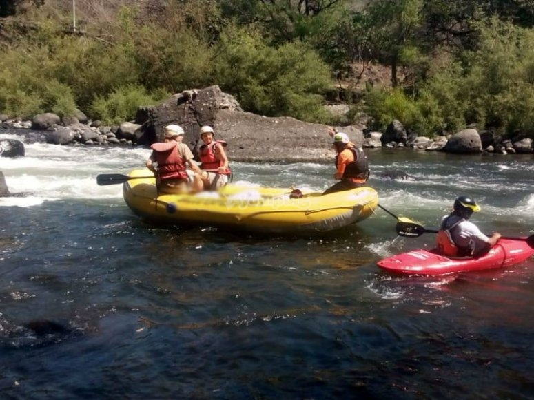 Navigate the Pescados River aboard your raft