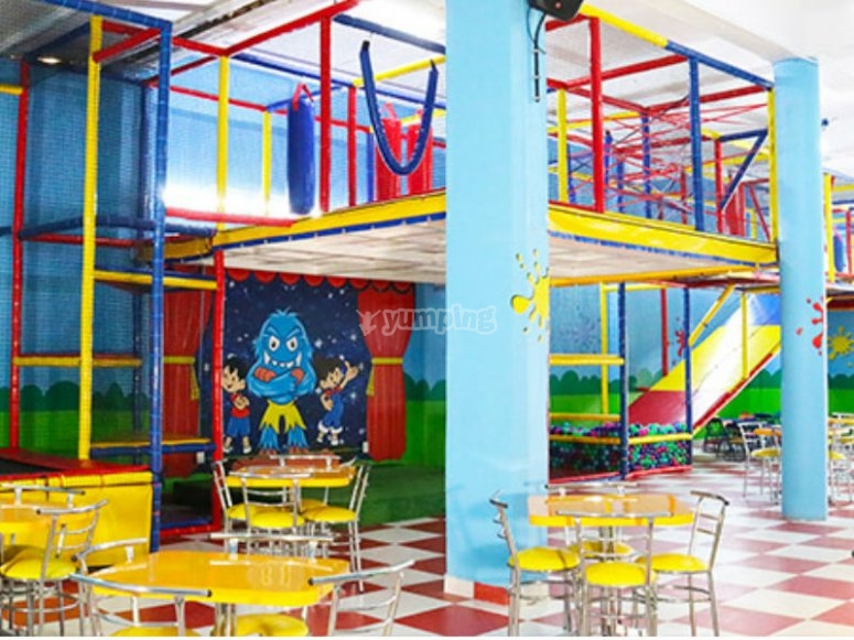 Playground in party room