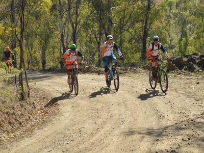 Tour grupal bici de montaña en playa de Malpaso
