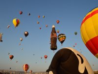 Balloons from around the world in Leon