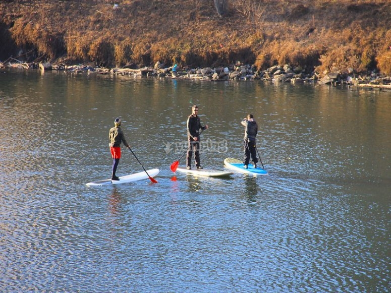 Make SUP with friends in Guadajalara