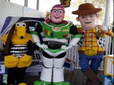 Botarga to choose for children's parties Puebla 1h