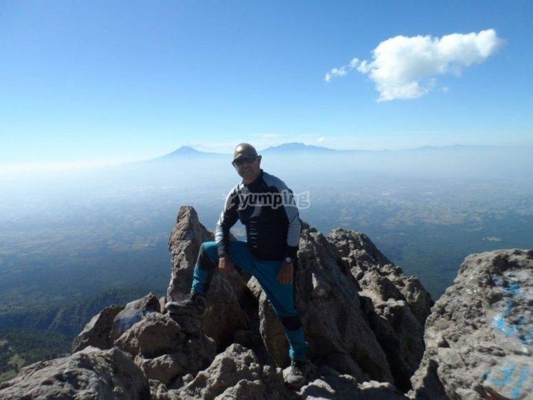On the top Huichapan Hidalgo