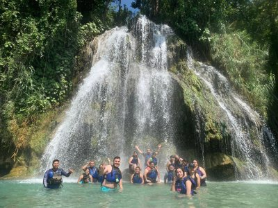 Tour a cascadas y Puente de Dios en Tamasopo 6 hrs