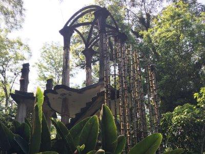 Tour a jardín surrealista y sótano en Xilitla 10h