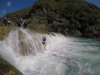 Tour to Micos River waterfalls with 5 hr jumps