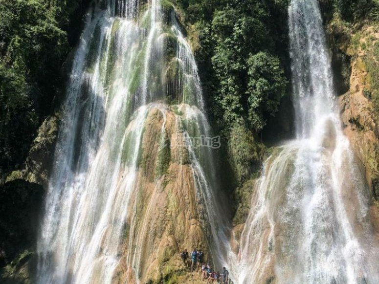 7 cascadas en Tamasopo