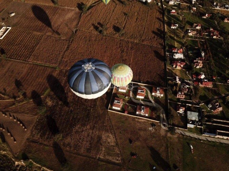 Vuelo en globo sobre Huamantla
