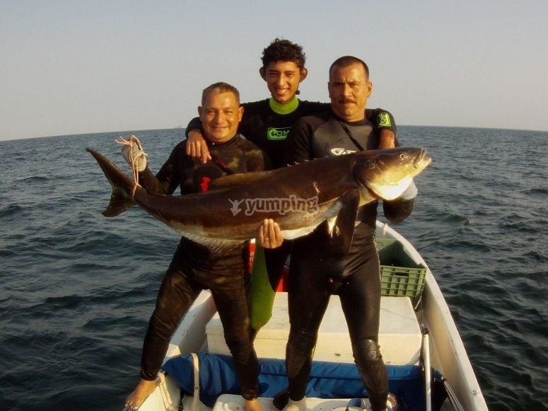 Pesca deportiva en Tabasco