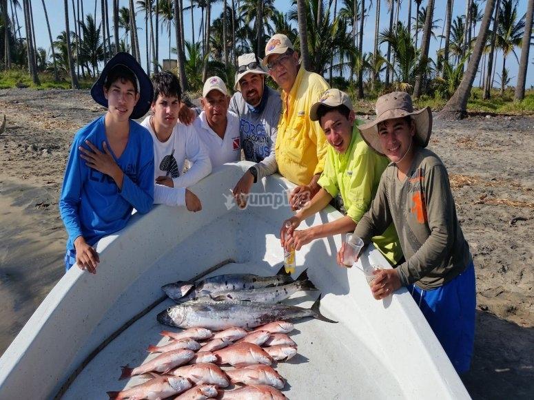 Pesca deportiva en el golfo