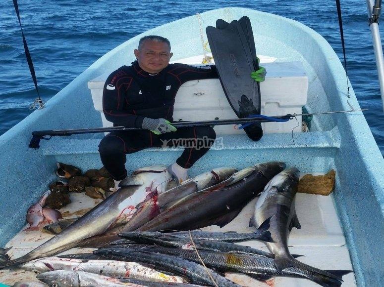 Equipo para pescar