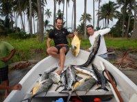Logramos pescar en Tabasco