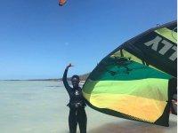 Kitesurf equipment rental in Holbox 3 hours
