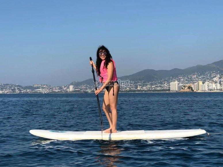 Paddle surf en Acapulco