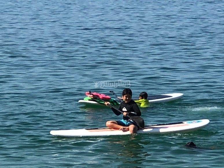 Sobre las tablas de paddle surf