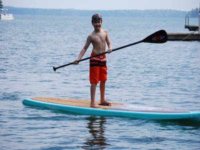 Paddle surf for children in Acapulco beach 1 hour