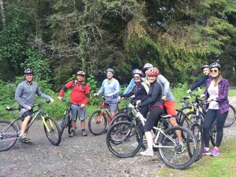 Mountain biking in Valle de Bravo