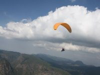 Paragliding flight in Valle de Bravo with video