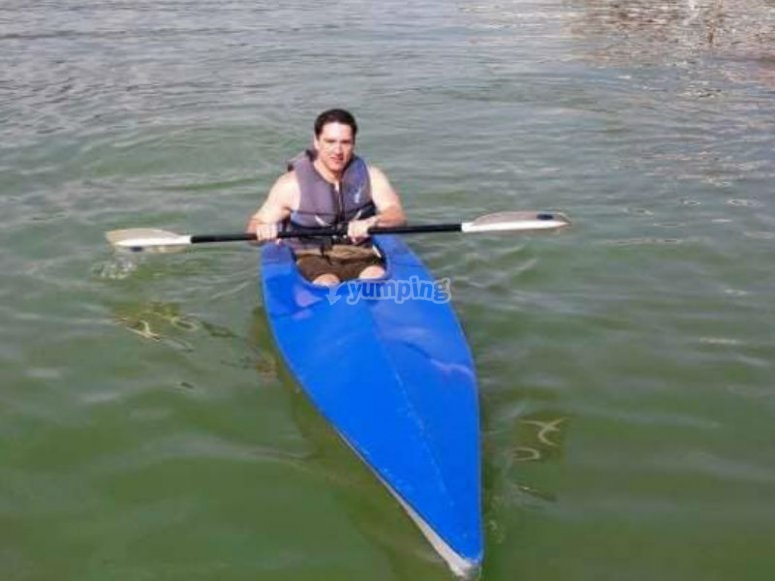 Kayaking in Valle de Bravo