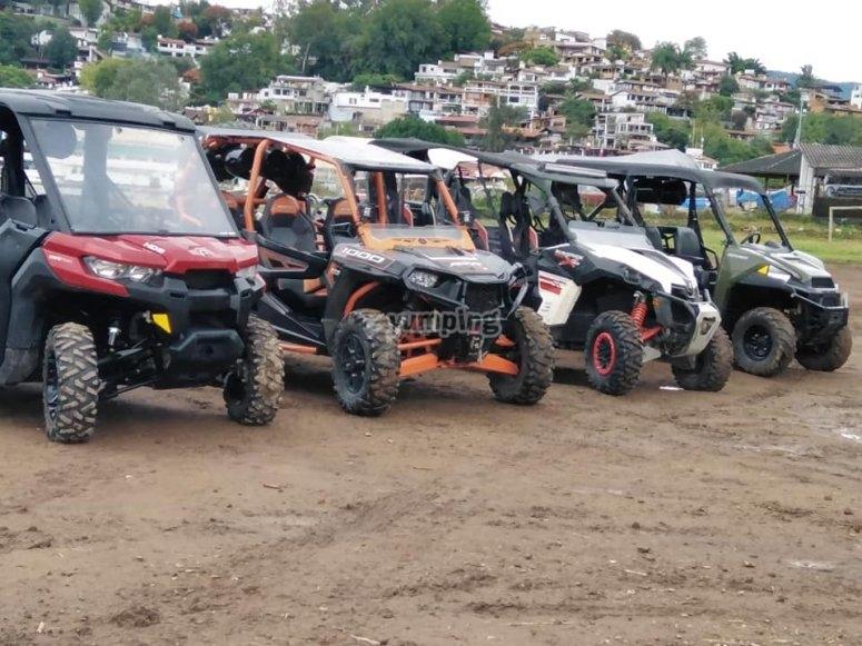 Buggy adventure in Valle de Bravo