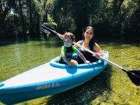 Kayak con bebé