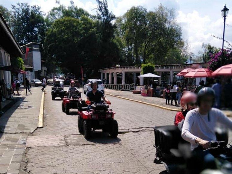 ATV in Valle de Bravo