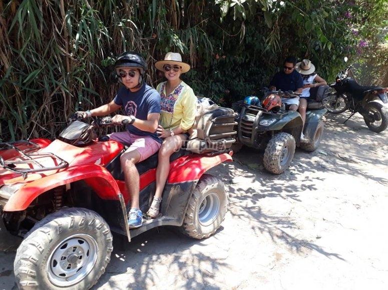 Exploring in ATV