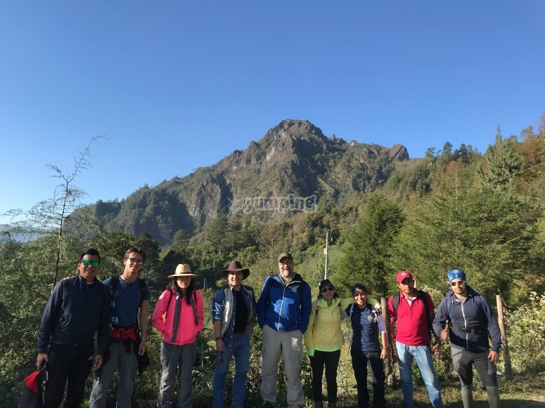 Our guided tour of Zempoaltepetl