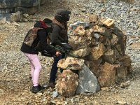 Rock barricades
