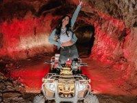 Tour inside the mine