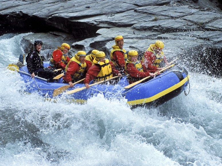 Rafting en el Río Tampaon