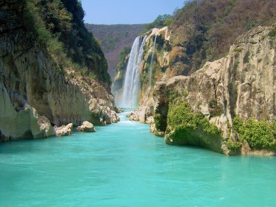 Rappelling and waterfall falls of Huasteca Potosina 4h
