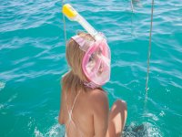 Snorkeling for children in Santa María Bay 4h