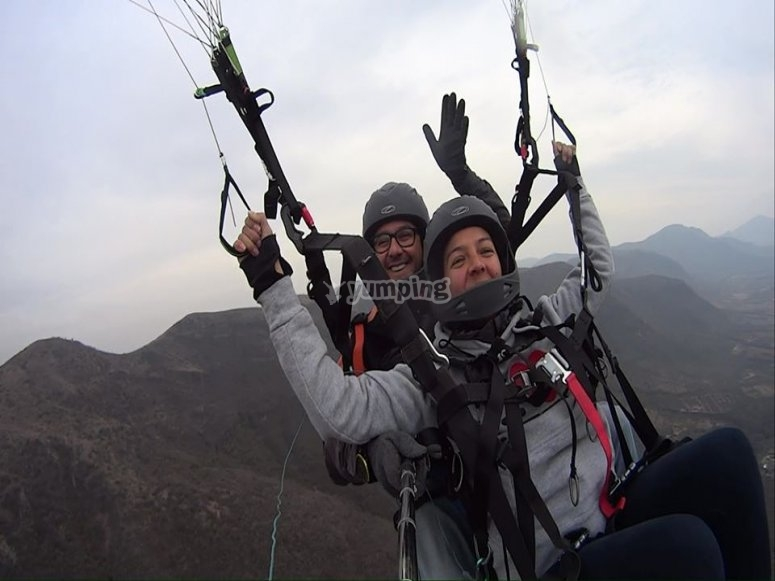 The best paragliding instructor