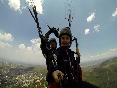 Paragliding flight in San Bernardino with video