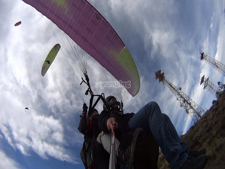Adventures in paragliding